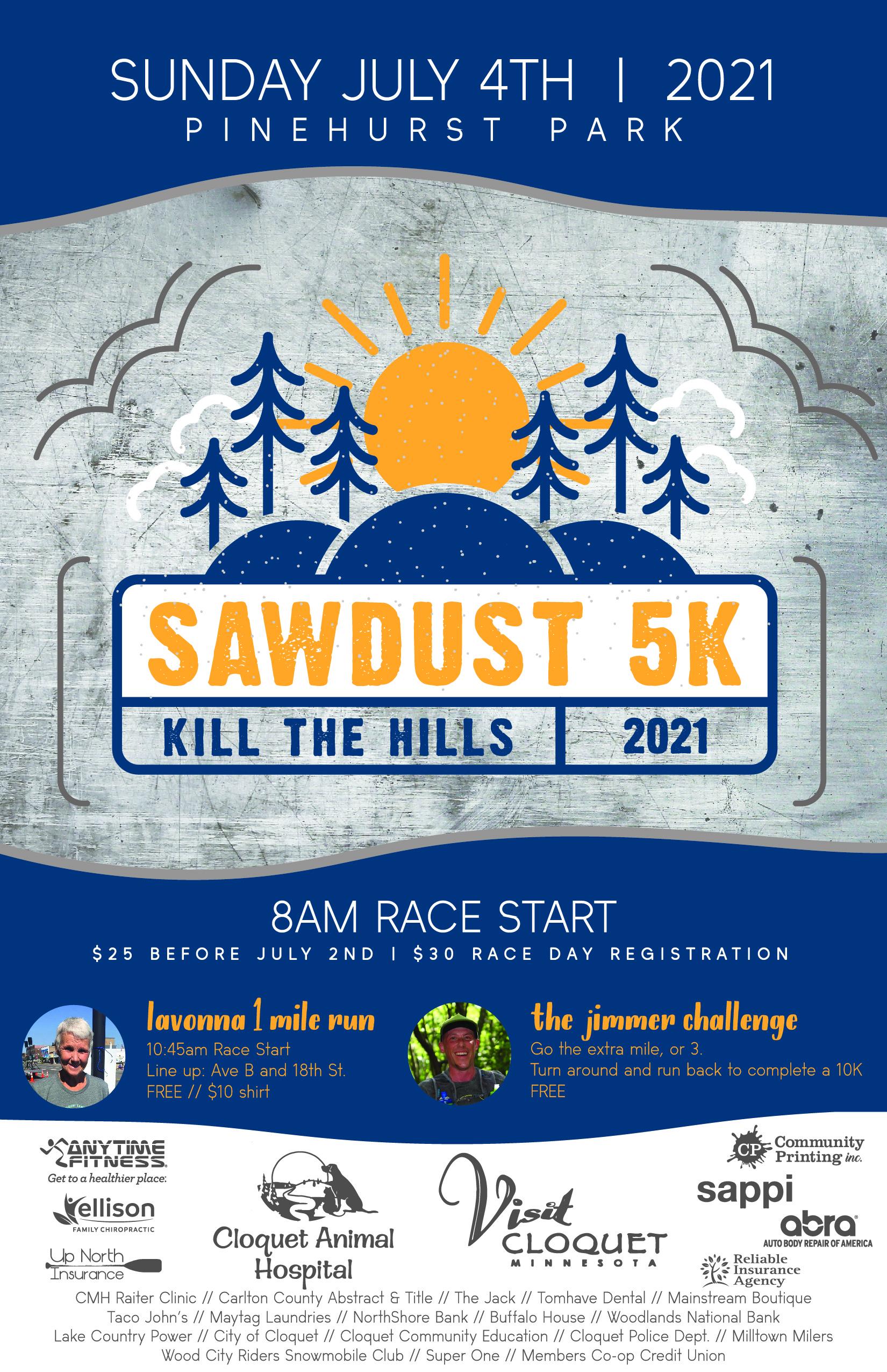 Sawdust 5k Poster 2021-01